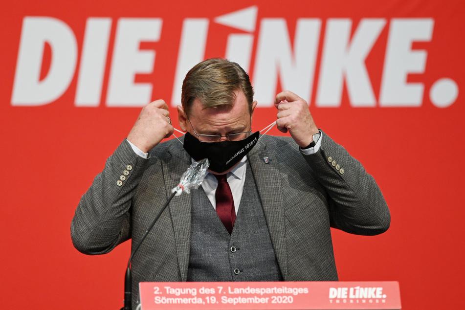 Der thüringische Ministerpräsident Bodo Ramelow (64, Die Linke).