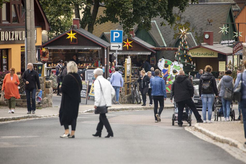 Bei 15 Grad: Weihnachtssaison im Erzgebirge eröffnet!
