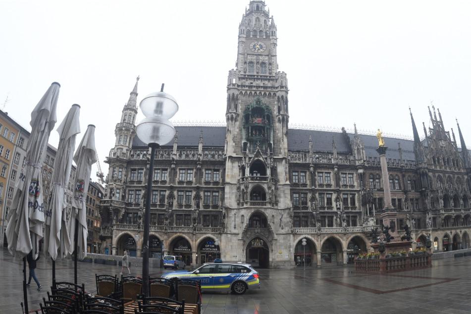 Das Rathaus in München.