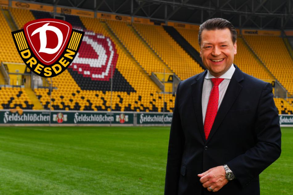 """Dynamo-Präsident Scholze bestätigt trotz fehlender Zuschauereinnahmen: """"Der Puffer ist da"""""""