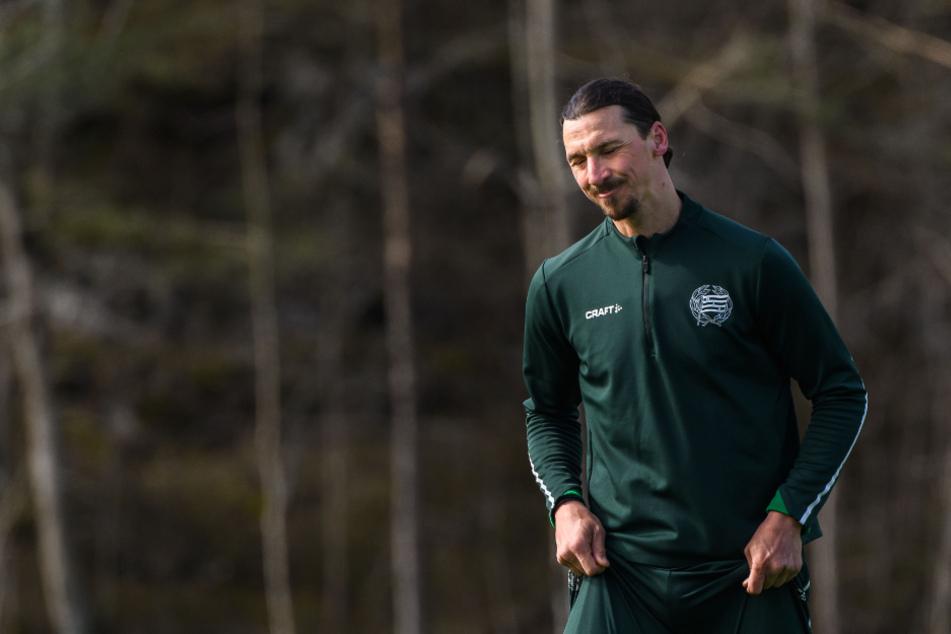 Karriereende einer Fußball-Legende? Zlatan Ibrahimovic verletzt sich im Mailand-Training