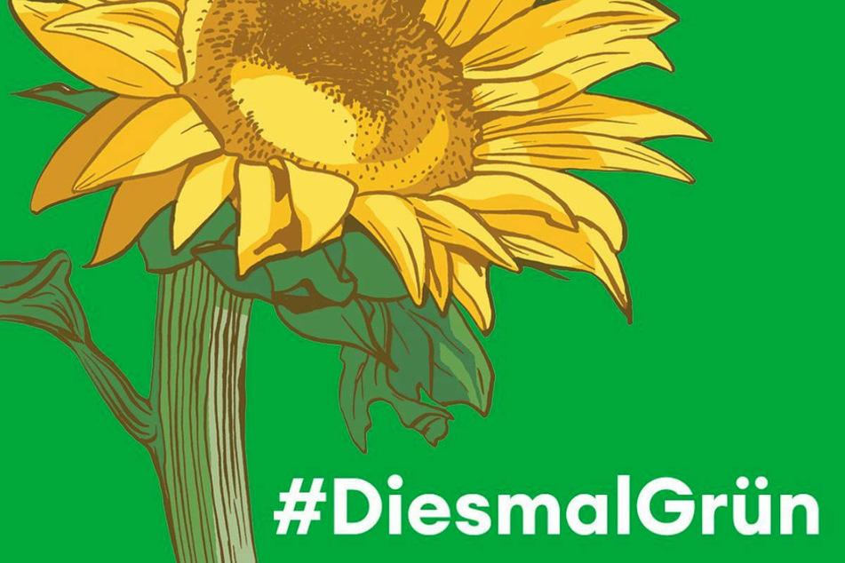 """Unter dem Hashtag #DiesmalGrün hat """"Die Ärzte""""-Sänger Bela B für Unterstützung der Grünen bei der anstehenden Bundestagswahl geworben."""