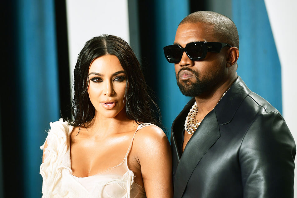 Kim Kardashian (39) und ihr Mann Kanye West (43) bei einer Oscar-Veranstaltung.