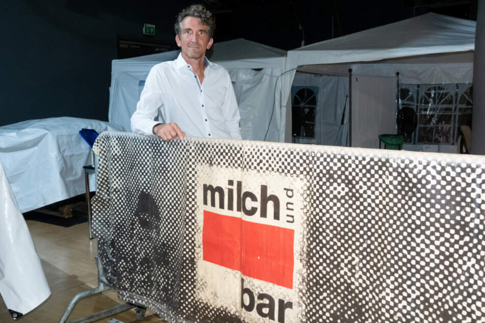 "Jakob Faltenbacher, Betreiber der Münchner ""Milchbar""."