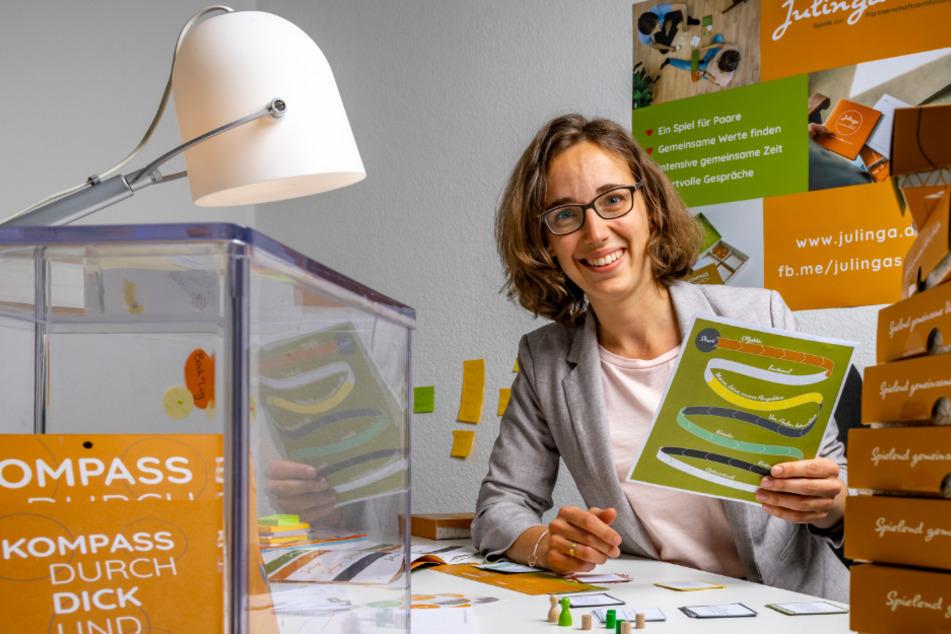 Mit ihren Tools für die Liebe startet Gründerin Julia Lüpfert (32) neu durch.