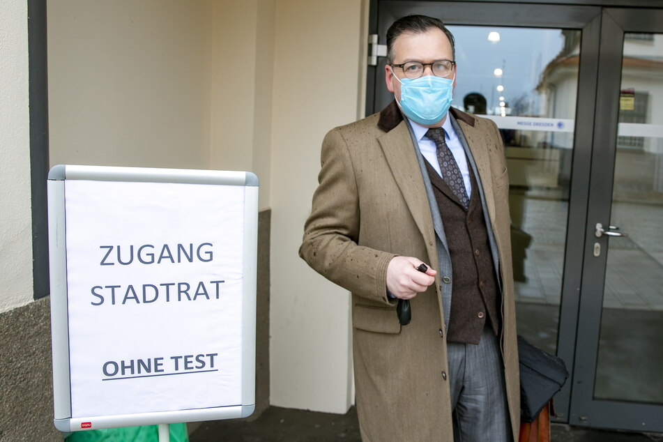 """""""Tests sind meine Privatsache"""": AfD-Chef Wolf Hagen Braun (44) vermied den freiwilligen Check."""