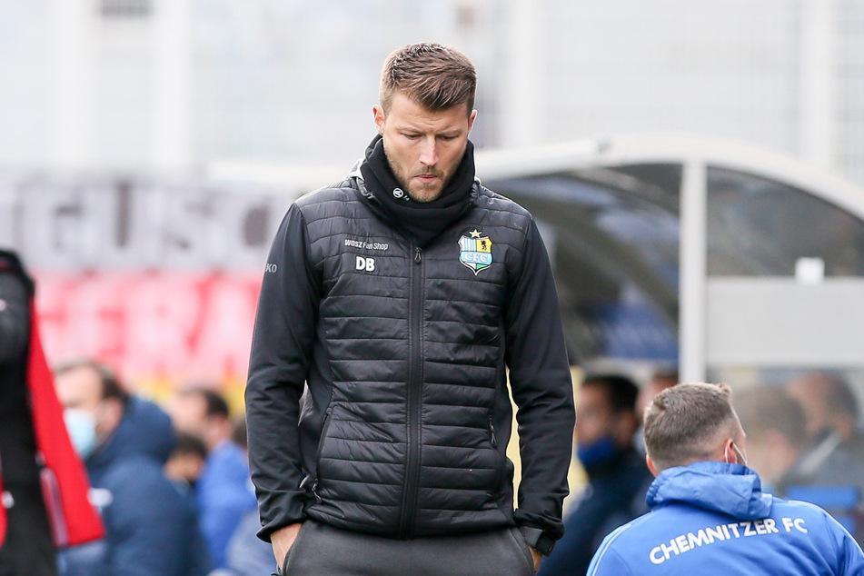 Düsteres Gesicht: CFK-Trainer Daniel Berlinski sah nach dem Ausgleich nicht glücklich aus.