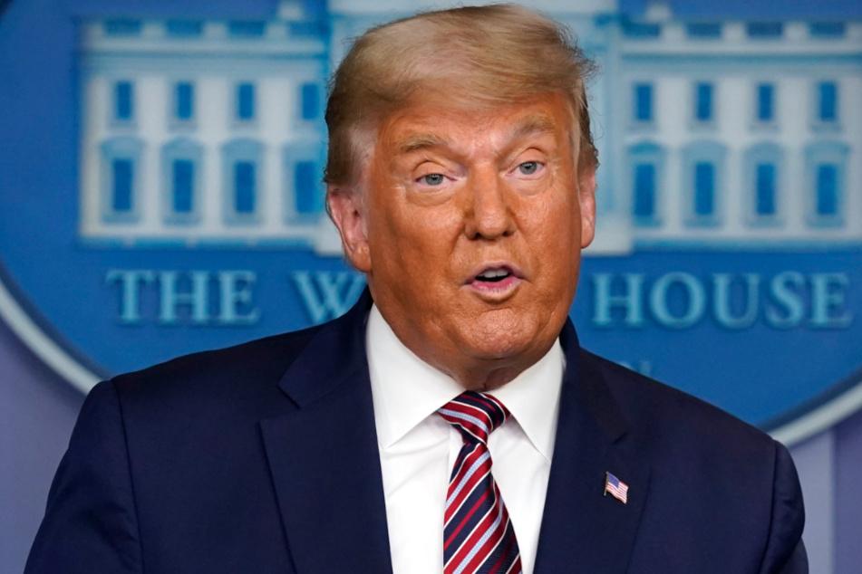 Will nicht aufgeben: US-Präsident Donald Trump (74).