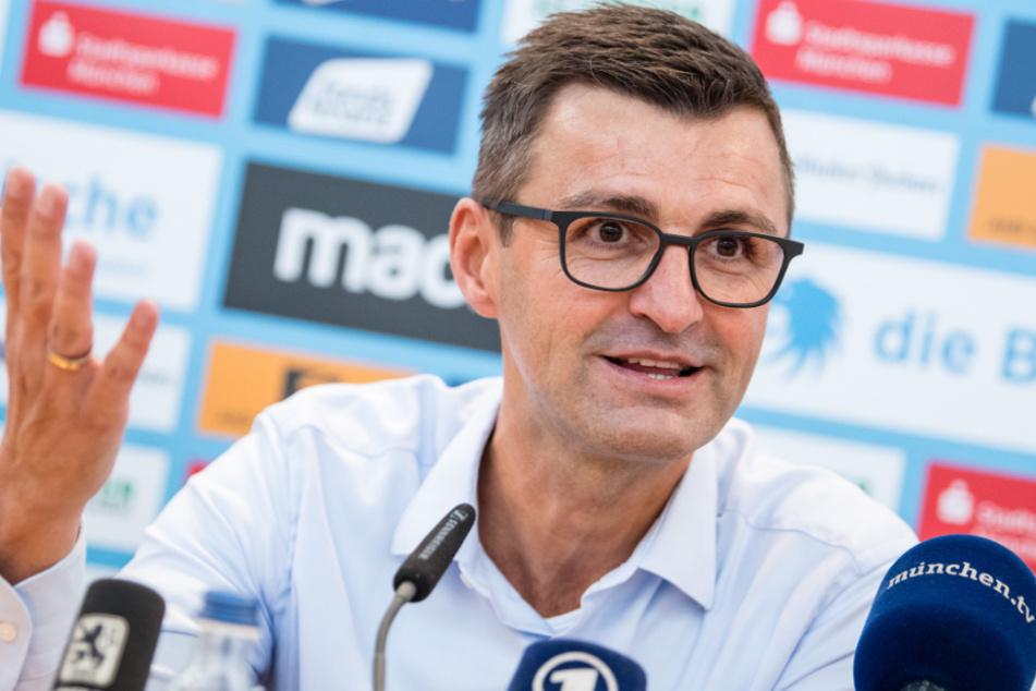 Für 1860-Trainer Michael Köllner und sein Team ist der Aufstieg noch möglich - sollte die Saison der 3. Liga nicht doch noch abgebrochen werden.