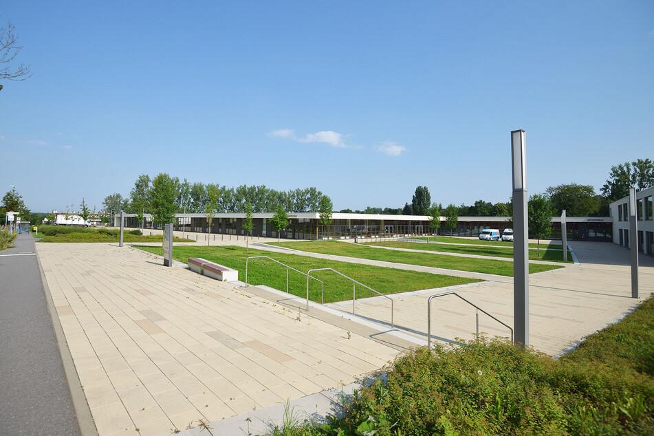 Der Terra-Nova-Campus ist zwar schon etwas grün, hat aber noch viel mehr Saugpotential, findet der Umweltaktivist.
