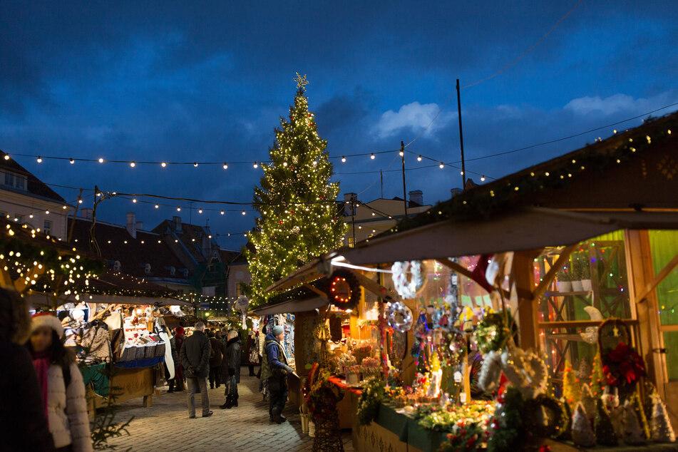 Weihnachtsmärkte werden in NRW nicht grundsätzlich verboten (Symbolbild).