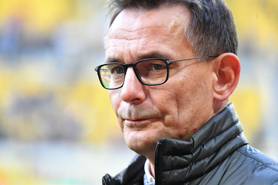 Dynamo-Geschäftsführer Michael Born bestätigt, dass die Zahlungsfähigkeit der SG Dynamo Dresden ist für das laufende Geschäftsjahr nicht gefährdet sei (Archivbild).