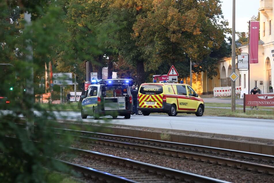 Der schwerverletzte Motorradfahrer wurde ins Krankenhaus eingeliefert.