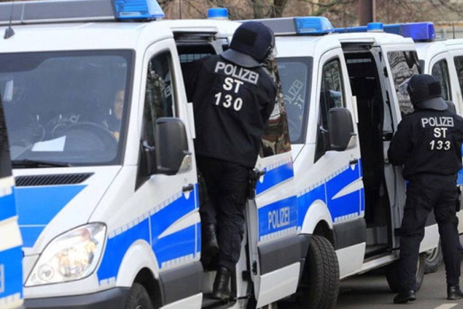 Verletzte Polizisten bei Demo der linken Szene