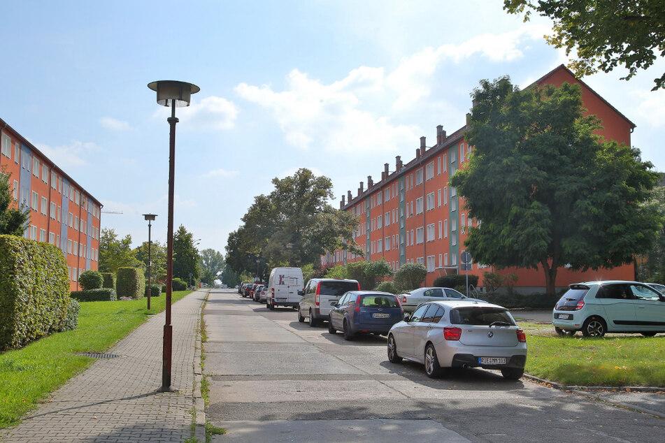 """Auf der engen Wismarer Straße kam es zum """"Duell""""."""