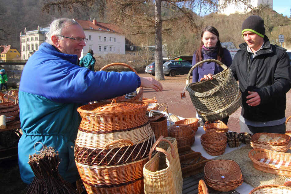 Auf dem Tharandter Naturmarkt gibt es wieder tolle - und leckere - Sachen aus der Region.