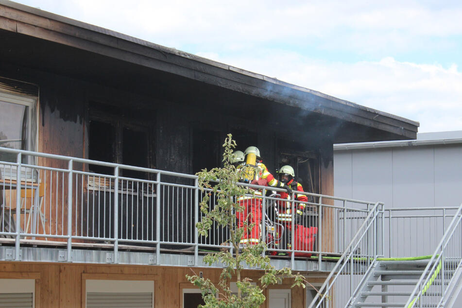 Feuer in Wohnheim für minderjährige Flüchtlinge: Sieben Menschen verletzt