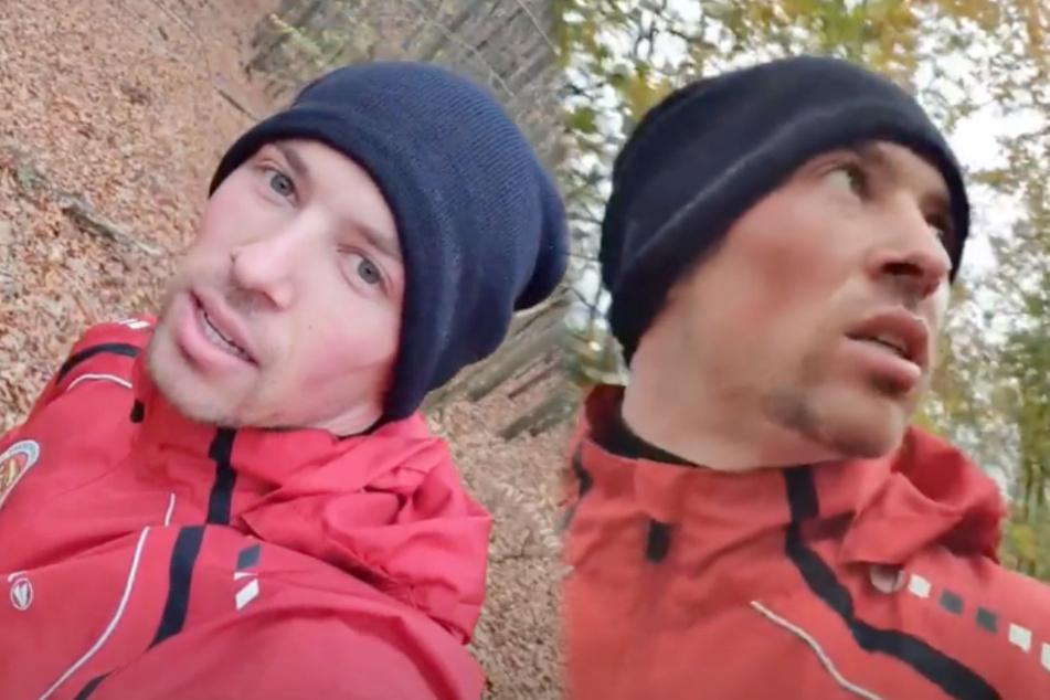 Schon wieder: Schlagersänger Ramon Roselly verläuft sich beim Joggen im Wald!