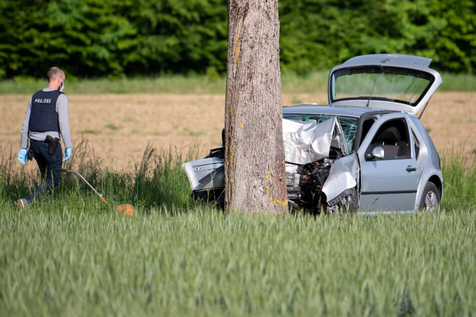 Der Autofahrer flüchtete nach dem Vorfall und verunfallte kurz darauf in Starnberg.