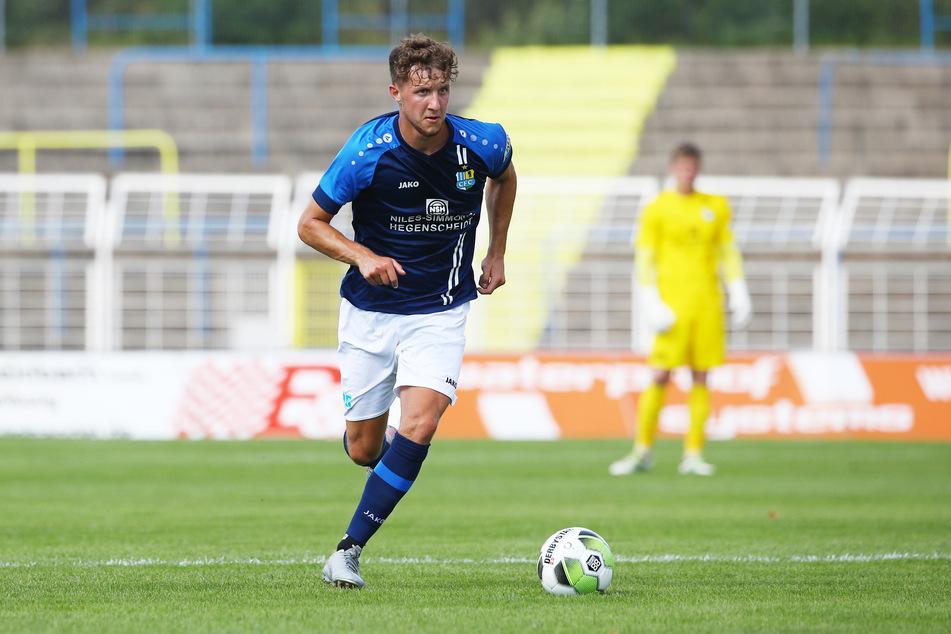Tim Campulka ist zwar erst 21 Jahre alt, zählt bei den Himmelblauen aber bereits zu den Leistungsträgern.