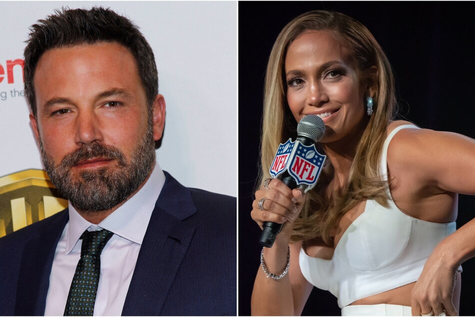 Ben Affleck (l.) and Jennifer Lopez (r.) were part of an Instagram from Leah Remini's 51st birthday party!