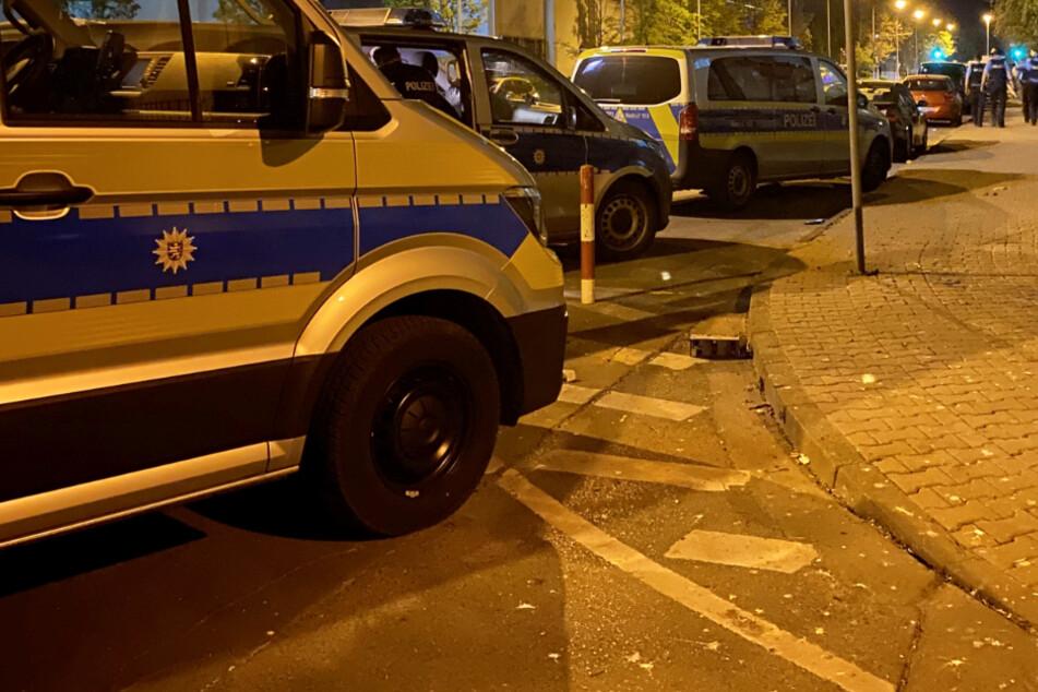 Zahlreiche Polizei-Kräfte beteiligten sich an dem Einsatz.