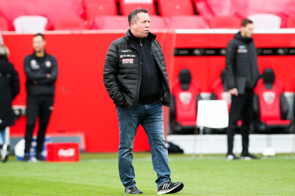 Dynamo-Coach Markus Kauczinski spricht seit Monaten davon, dass es natürlich Rückschläge geben wird.