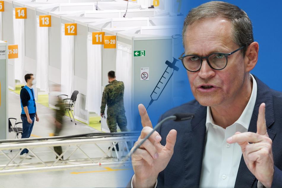 Impfpflicht in Berlin? Das sagt Michael Müller