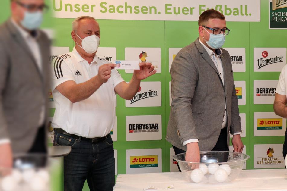 Lief bei der Sachsenpokal-Auslosung alles glatt? Fans wittern einen Los-Skandal