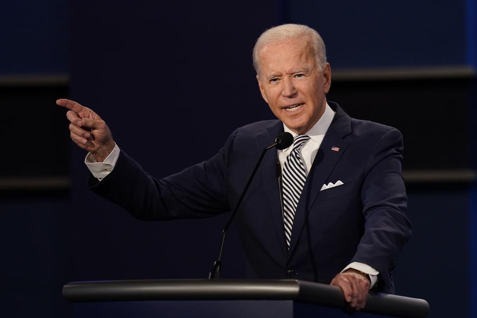 """Im Gegensatz zu Donald Trump hat Joe Biden sein """"60 Minutes""""-Interview ganz normal beendet."""