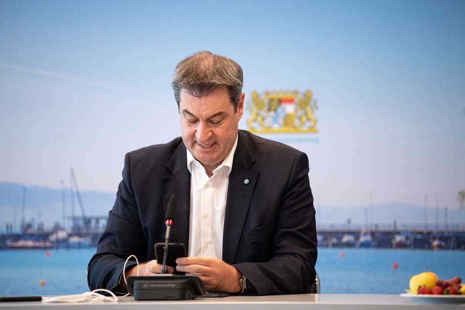 Markus Söder (54, CSU), Parteivorsitzender und Ministerpräsident von Bayern.