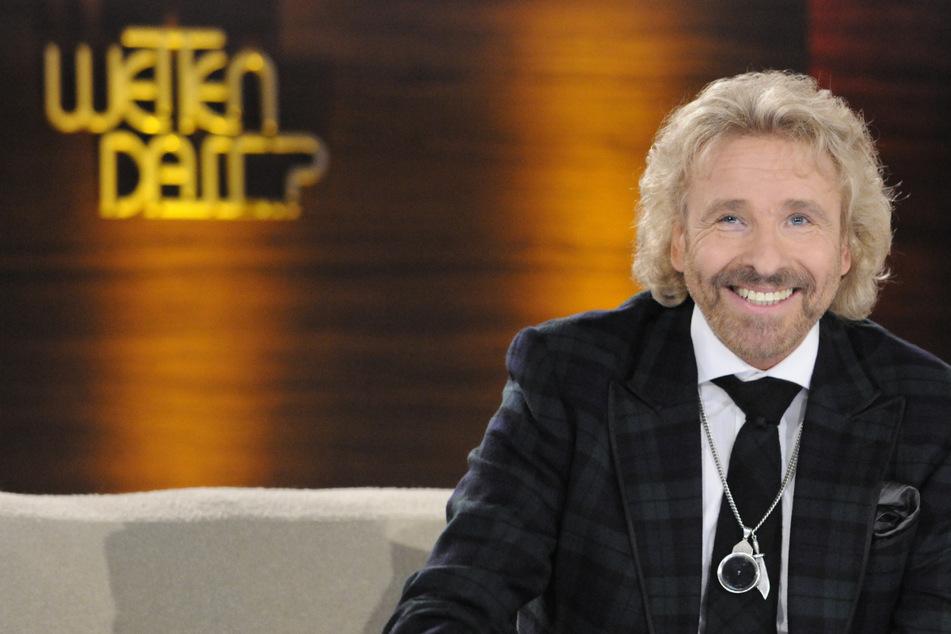 """Die Sonderausgabe von """"Wetten, dass...?"""" mit Moderator Thomas Gottschalk (71) soll am 6. November dieses Jahres im ZDF ausgestrahlt werden."""