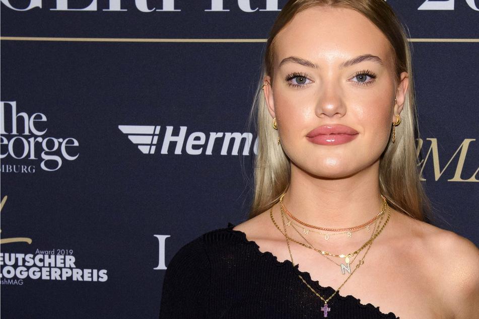 Cheyenne Savannah Ochsenknecht (22), Model, kommt im November 2019 über den roten Teppich zur Verleihung des 4. Deutschen Bloggerpreises in den Mozartsälen.