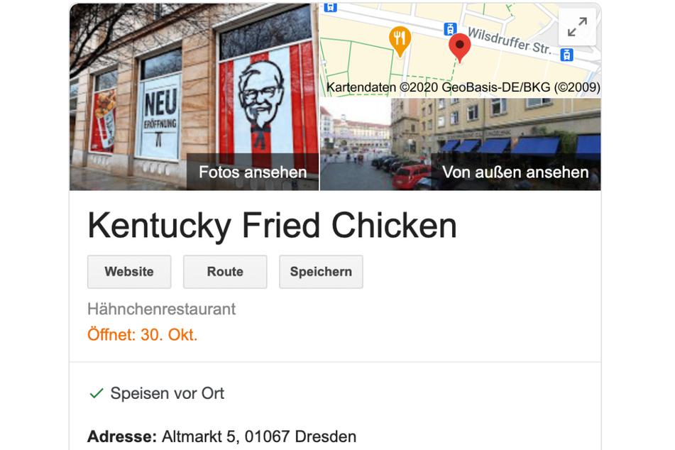 Weiß Google mehr? Angeblich steht ein Eröffnungstermin fest.