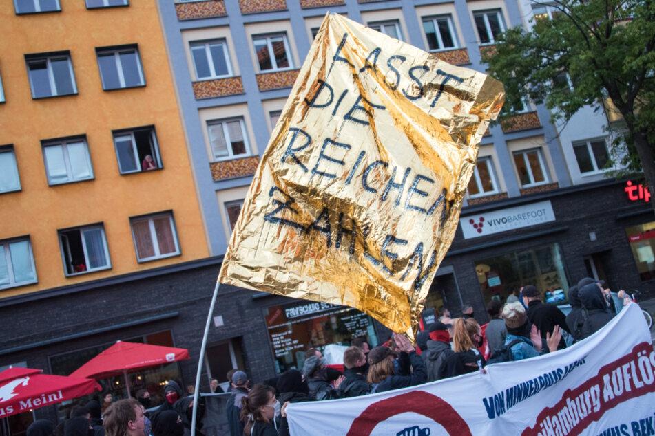 Auch Linke wollen am Samstag in Hamburg demonstrieren. (Symbolbild)