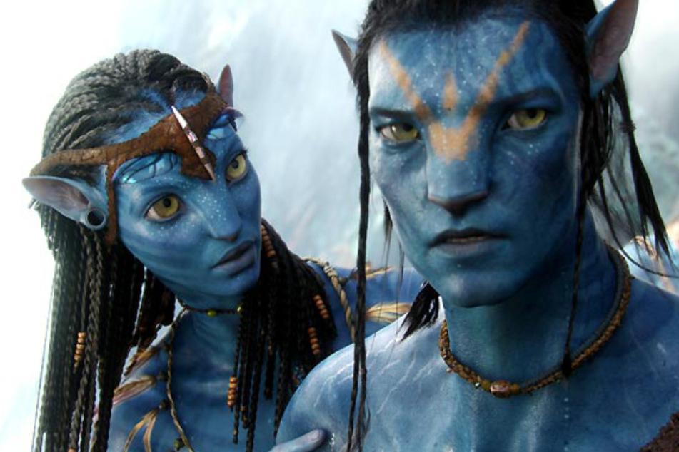 """In """"Avatar"""" geraten die außerirdischen Na'vi in einen Konflikt mit der Menschheit."""
