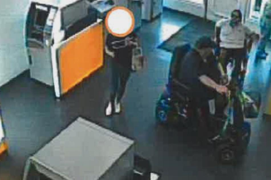 Fahndungsfotos bringen Polizei auf Spur von Dieb im Rollstuhl