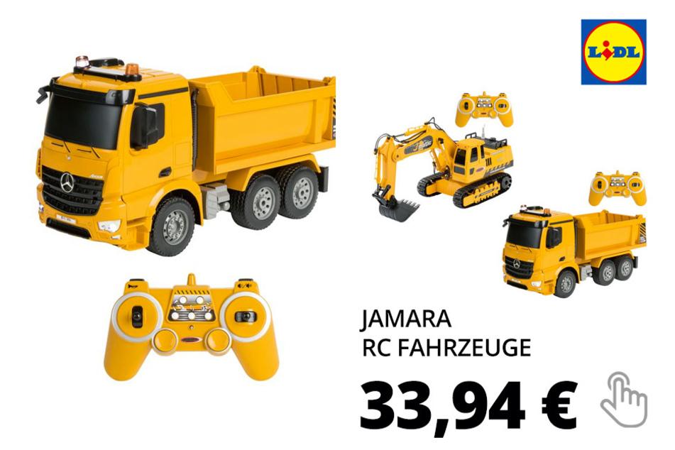 JAMARA RC Fahrzeuge, mit Hupe, Licht und Sound