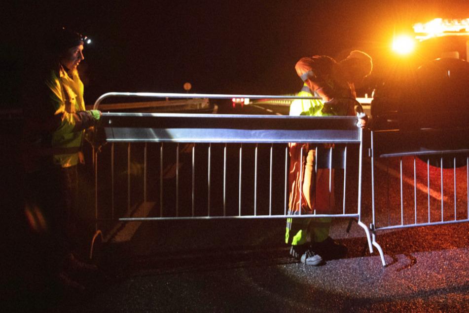 In Tschechien wurden in der Nacht zu Samstag die Grenzkontrollen wiedereingeführt.