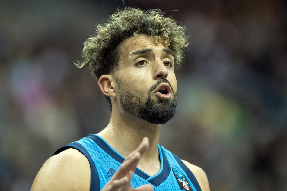 Joshiko Saibou noch im Trikot von Alba Berlin, zuletzt spielte der Basketballprofi für die Telekom Baskets aus Bonn.