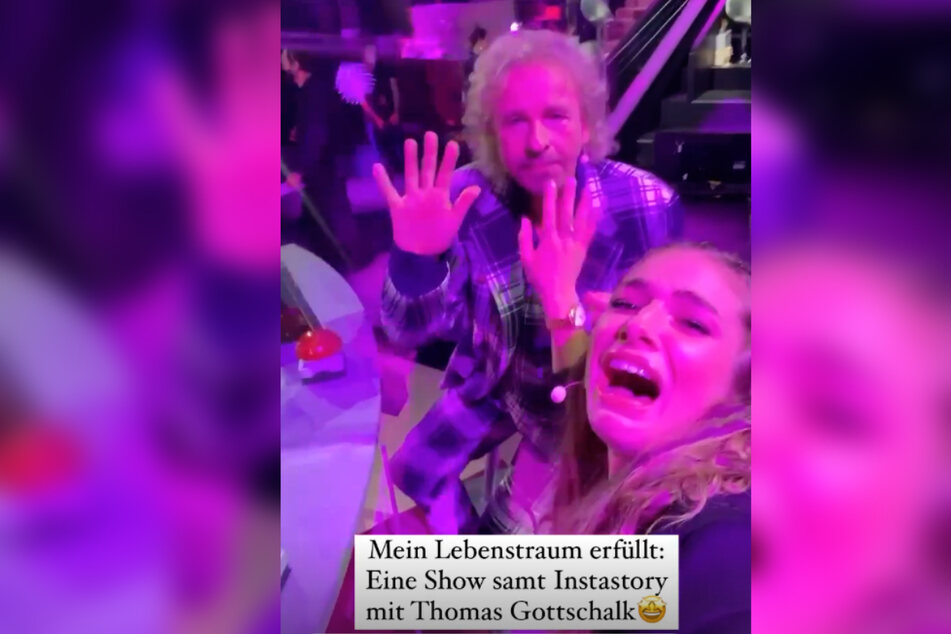 Lola Weippert (25) erfüllte sich einen Lebenstraum, indem sie an der Seite von Star-Entertainer Thomas Gottschalk (70) in einer Show auftreten durfte.