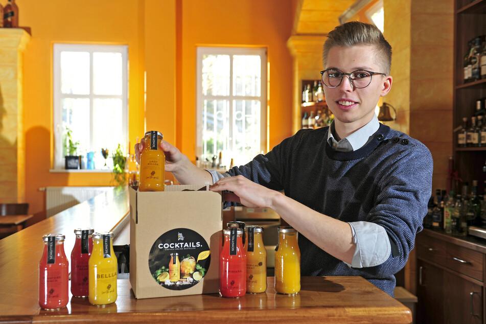 Barkeeper Felix Erdmann (28) hat sich im Stillstand zu geschmackvollen Ideen inspirieren lassen.