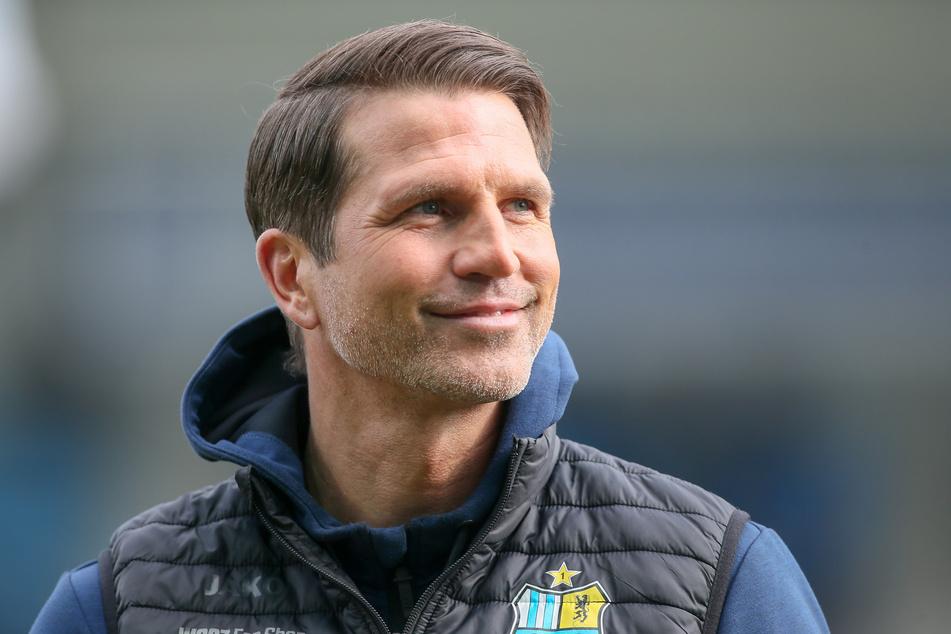 CFC-Coach Patrick Glöckner freut sich, dass viele Mannschaften mit Respekt zu den Himmelblauen fahren.