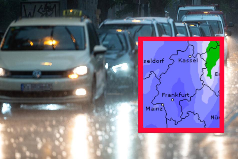 Erneut Gewitter- und Starkregen-Gefahr in Frankfurt und ganz Hessen
