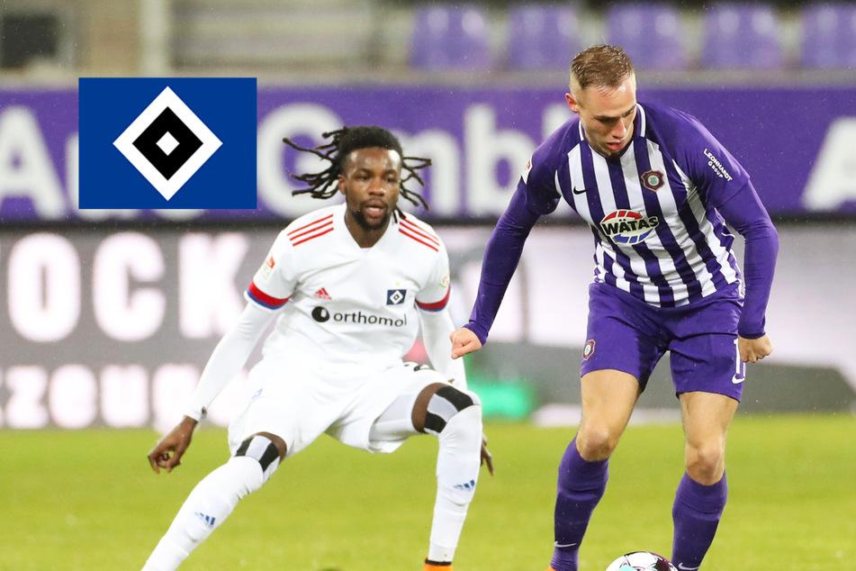 Sechs-Tore-Spektakel: HSV holt trotz Führung nur ein Remis in Aue!