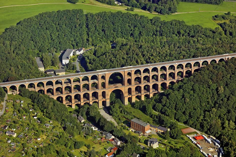 Vor 175 Jahren begann der Bau der Göltzschtalbrücke: Der Koloss im Zahlen-Check