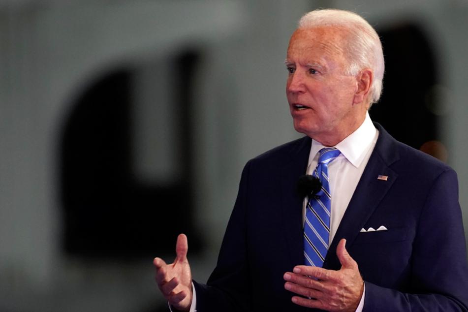 Der demokratische Herausforderer Joe Biden (77) liegt sehr in der Gunst der Bundesbürger. (Archiv)