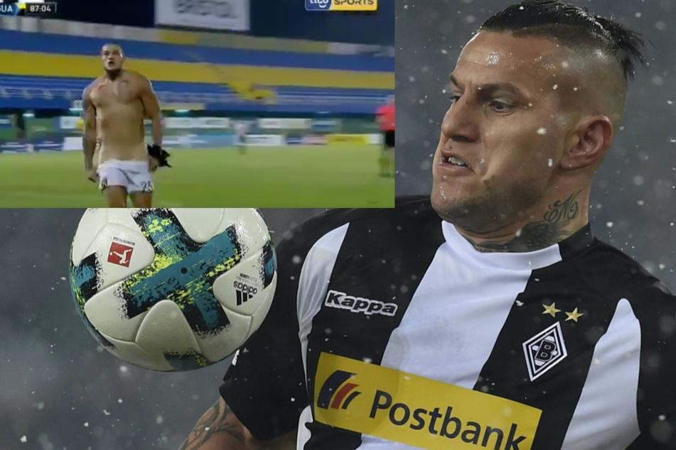Ex-Bundesligastürmer Raul Bobadilla sorgt mit Nackt-Jubel für Furore