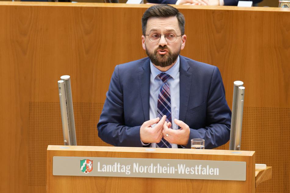Thomas Kutschaty (51) ist Vorsitzender der SPD-Fraktion im SDP-Landtag.