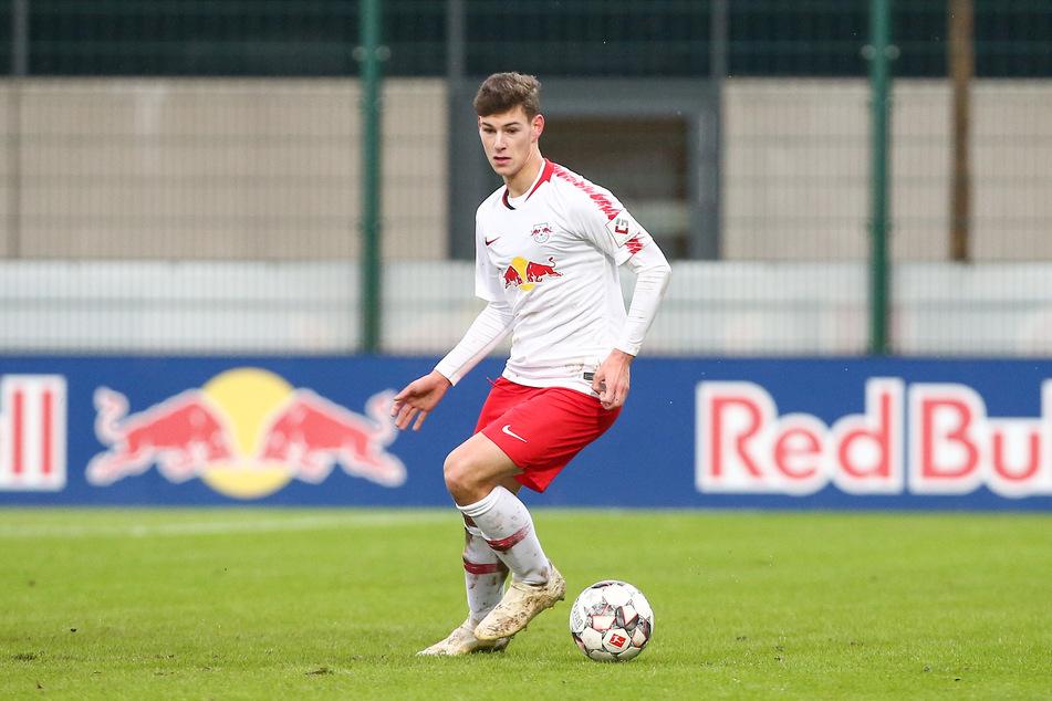 """Er gilt als größtes Talent im Stall der """"Roten Bullen"""": Tom Krauß. In Aue soll der 19-Jährige ein Jahr reifen."""